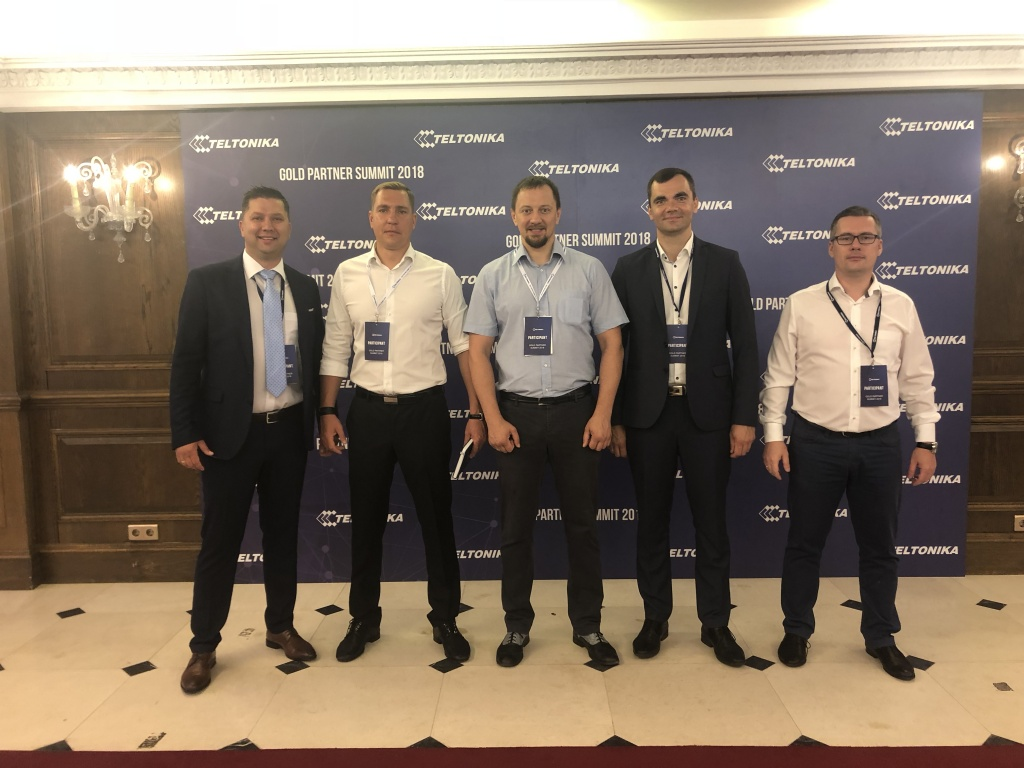 Teltonika Gold Partner Summit 2018